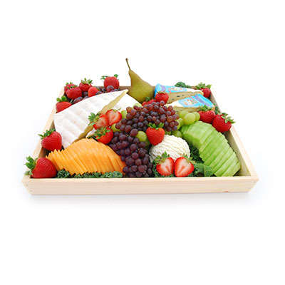 fresh fruit cheese platter italian food italian market