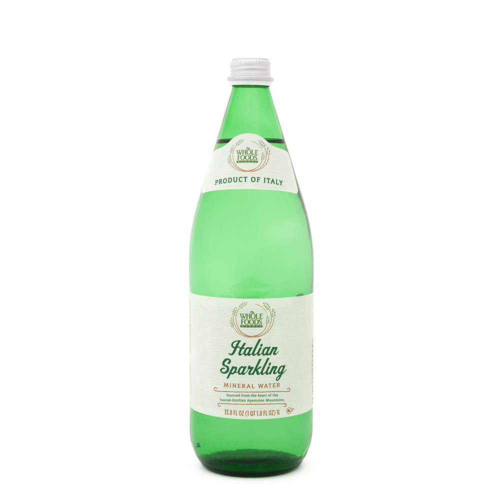 Whole Foods Strawberry Italian Sparkling Mineral Water