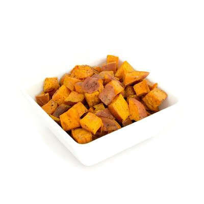 Herb Roasted Sweet Potatoes One pound serves 4-6 guests