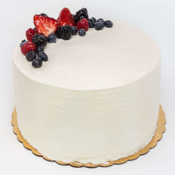6 Inch Berry Chantilly Cake