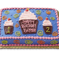 Fabulous Chocolate Kids Love Cupcakes Cake Jacksonville Whole Foods Market Personalised Birthday Cards Cominlily Jamesorg