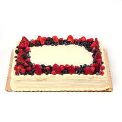 Groovy Berry Chantilly Sheet Cake Rocky River Whole Foods Market Personalised Birthday Cards Cominlily Jamesorg