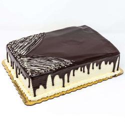 Full Sheet Chocolate Eruption Cake