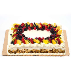 Amazing Fresh Fruit Sheet Cake Ashburn Whole Foods Market Personalised Birthday Cards Cominlily Jamesorg