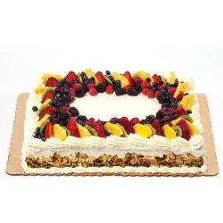 Outstanding Fresh Fruit Sheet Cake Ashburn Whole Foods Market Personalised Birthday Cards Rectzonderlifede